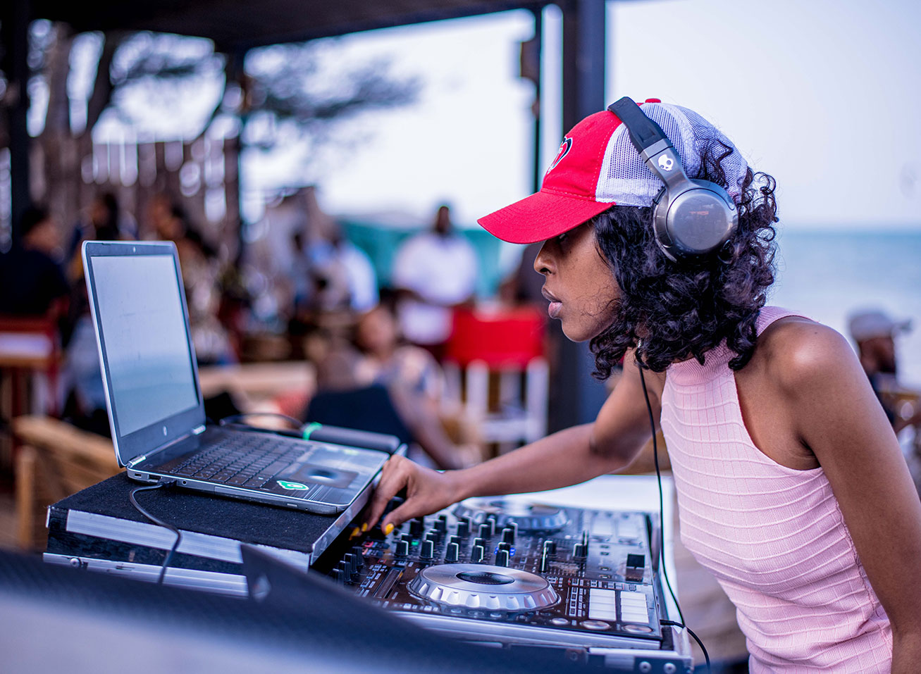 Live DJ and entertainment at The Thailand International Boat Show in Phuket