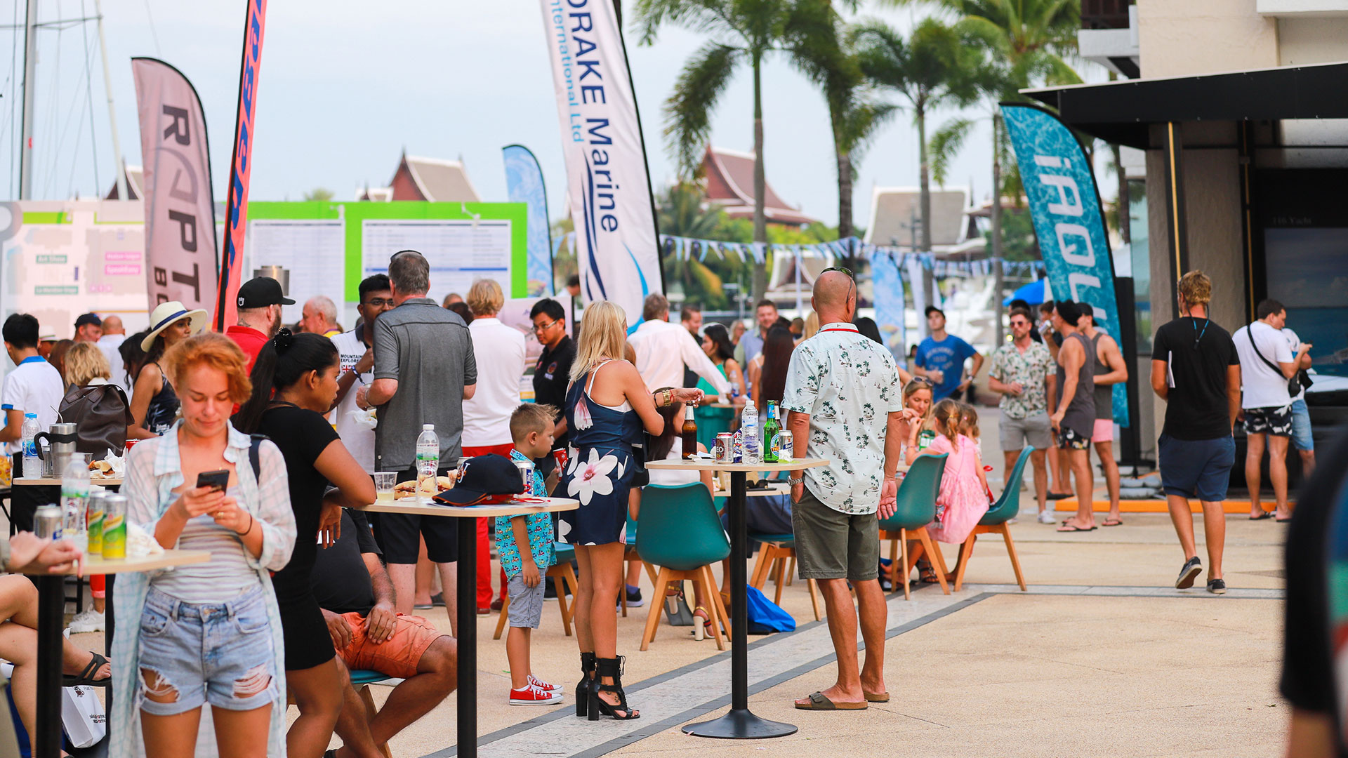 Entertainment and social events at The Thailand International Boat Show