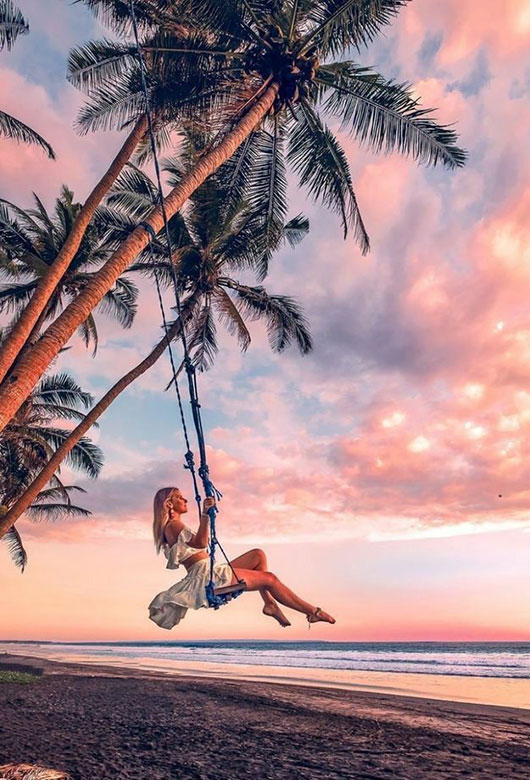 Beach lifestyle in Phuket Thailand