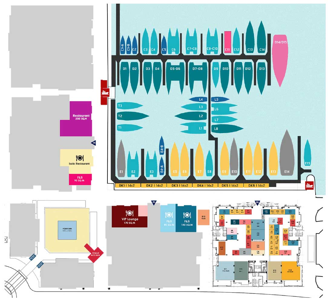 Thailand International Boat Show Overall Plan